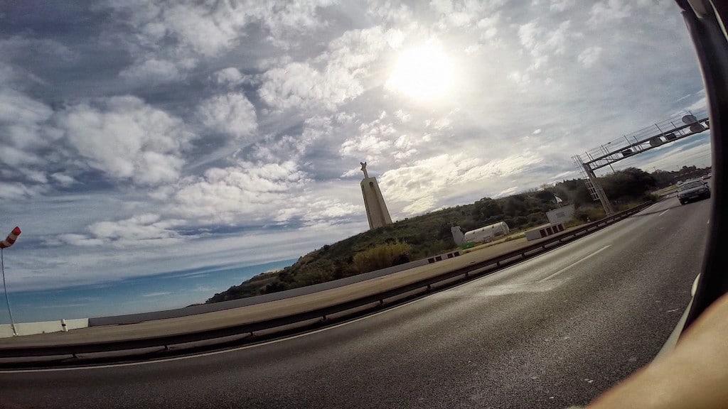 Road to Lisbon Portugal