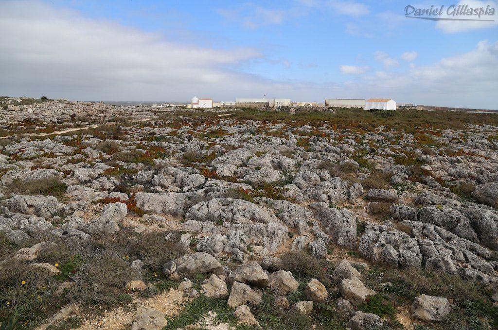 Rocky terrain Portugal