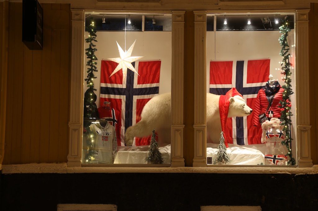 Store front Tromso Norway