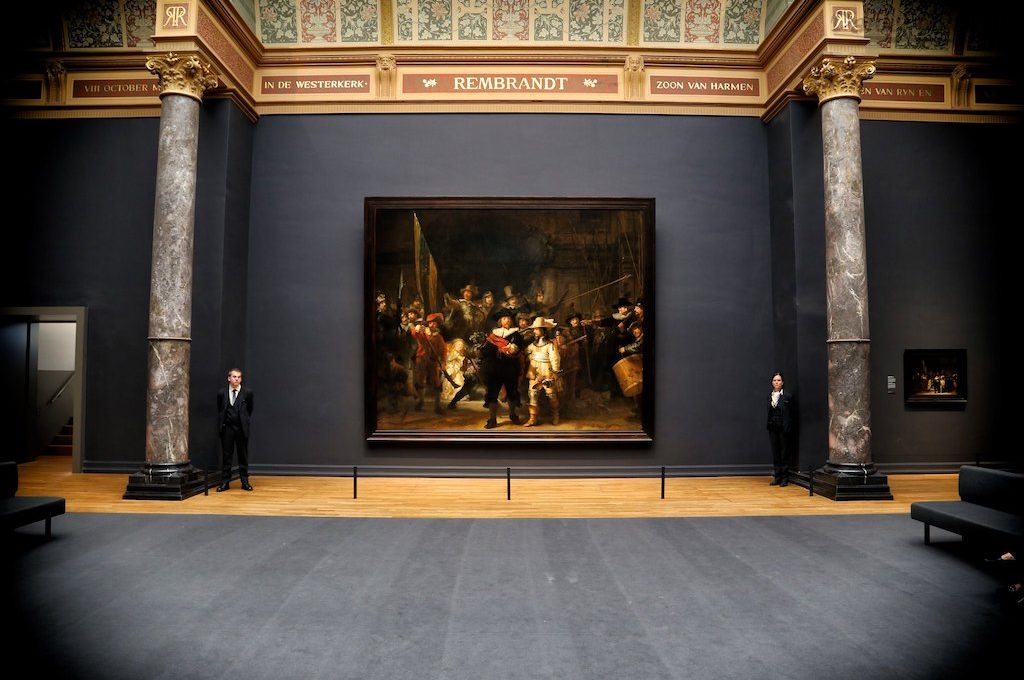 The Night Watch at the Rijksmuseum Amsterdam