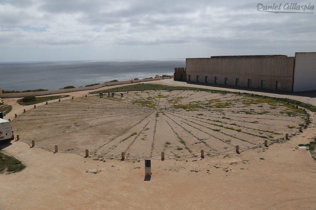 The Wind Rose at Fortaleza de Sagres