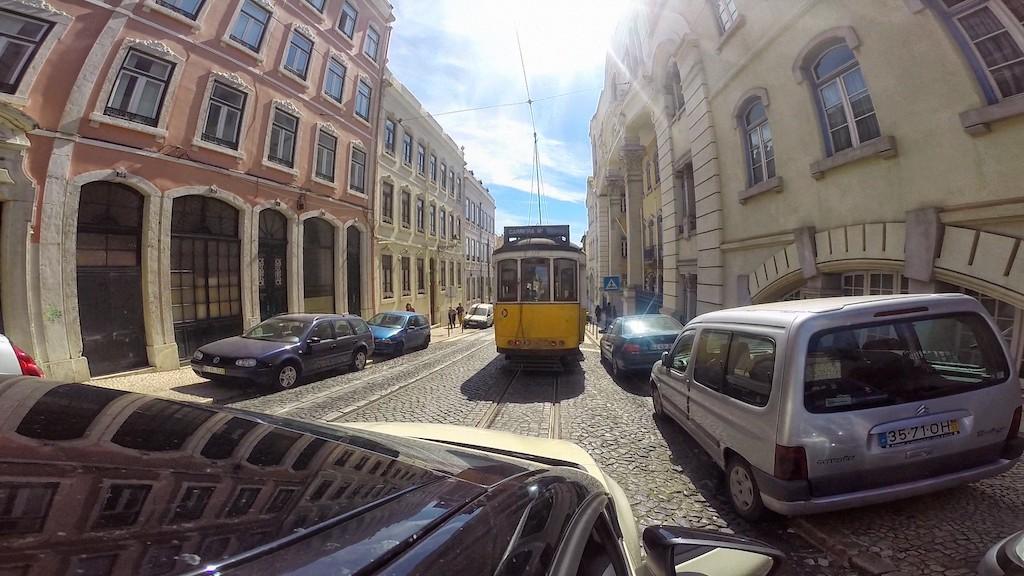 Trolly in Lisbon Portugal