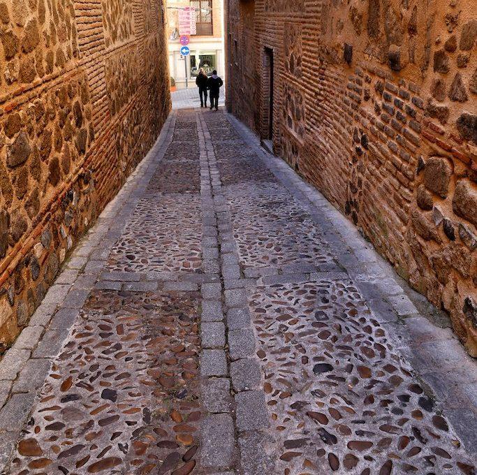 Alley in Toledo Spain
