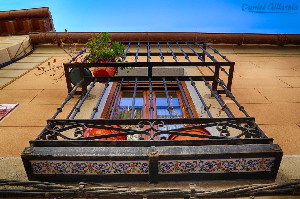 Balcony in Toledo Spain