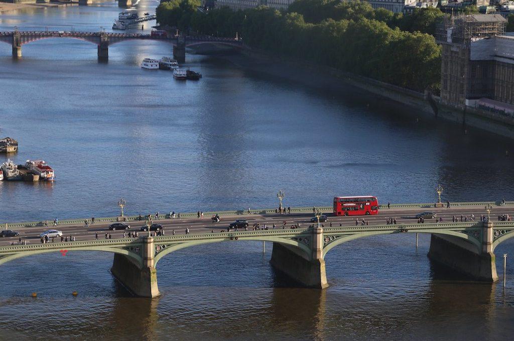 Bridge view from London Eye
