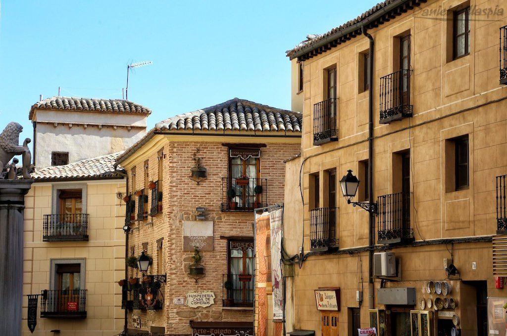 Buildings in Toledo Spain