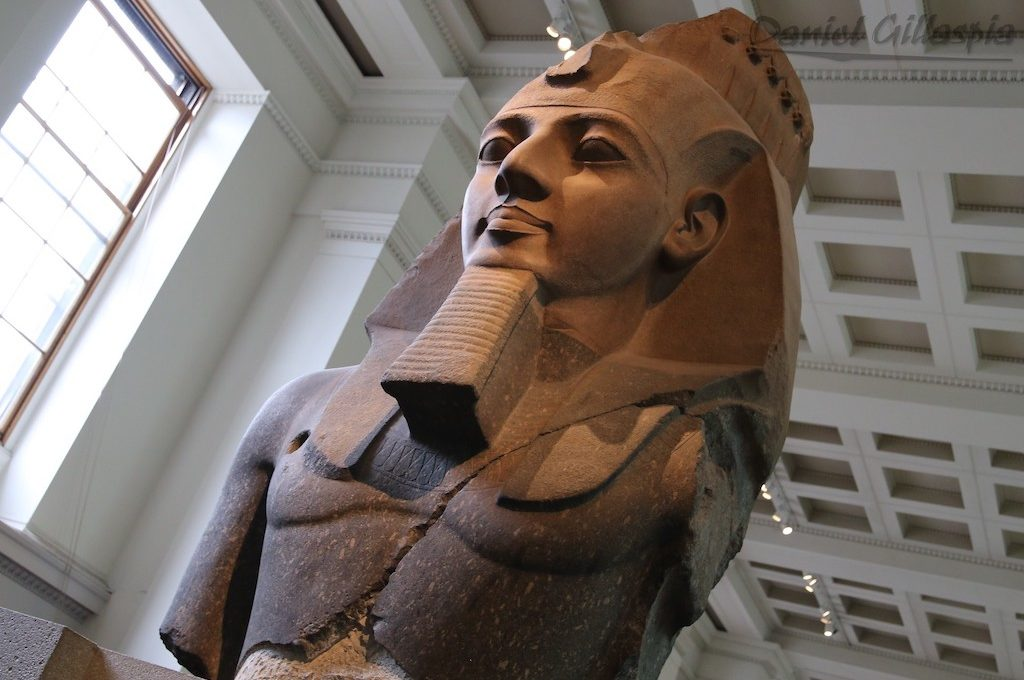 Colossal bust of Ramesses II the Younger Memnon