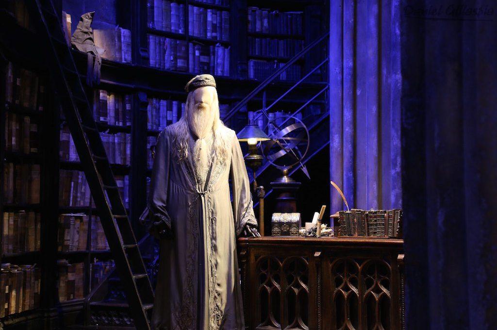 Dumbledores Office on Harry Potter London Tour