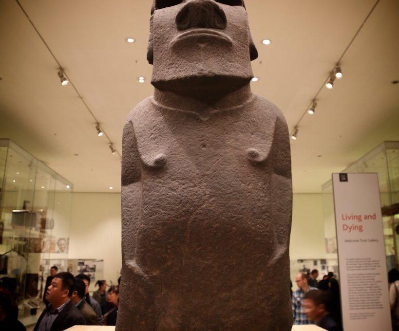 Easter Island Statue British Museum