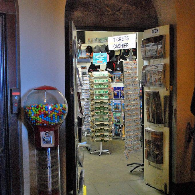 Gift Shop at Coit tower
