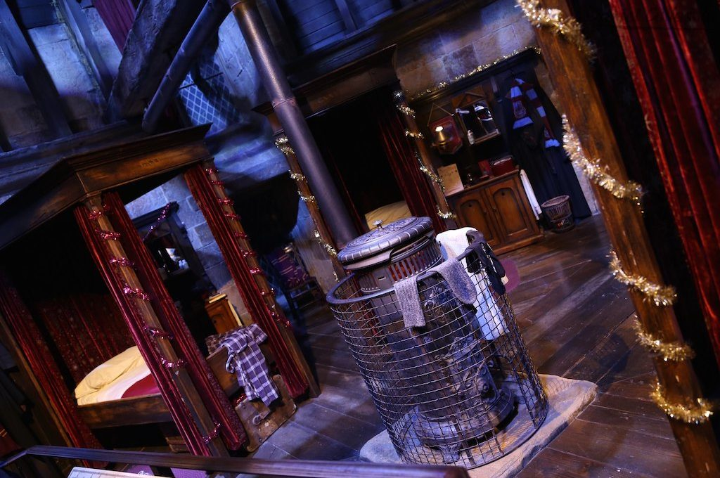 Gryffindor Boys Dormitory Harry Potter London Tour