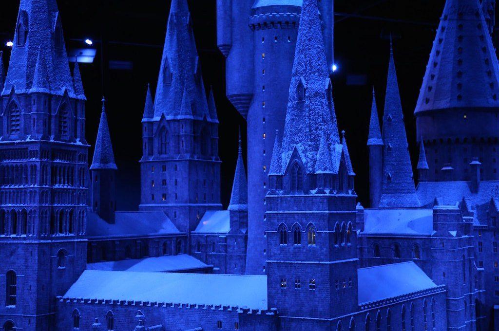 Hogwarts model Harry Potter London