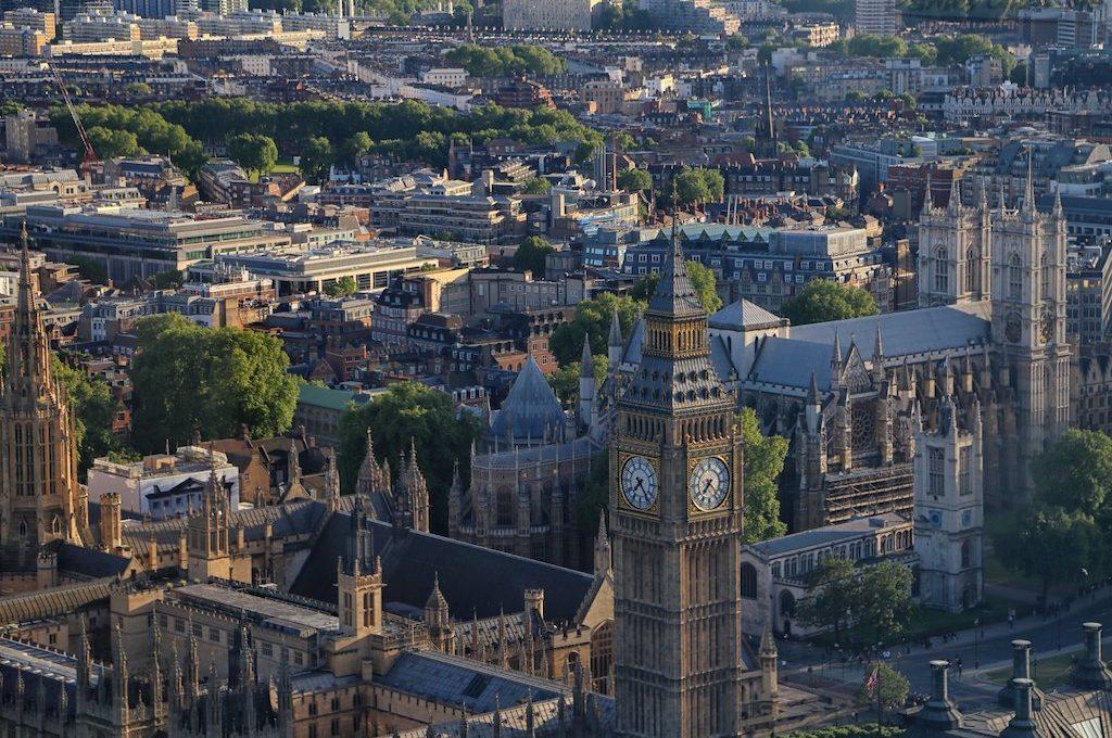 London Eye view Big Ben