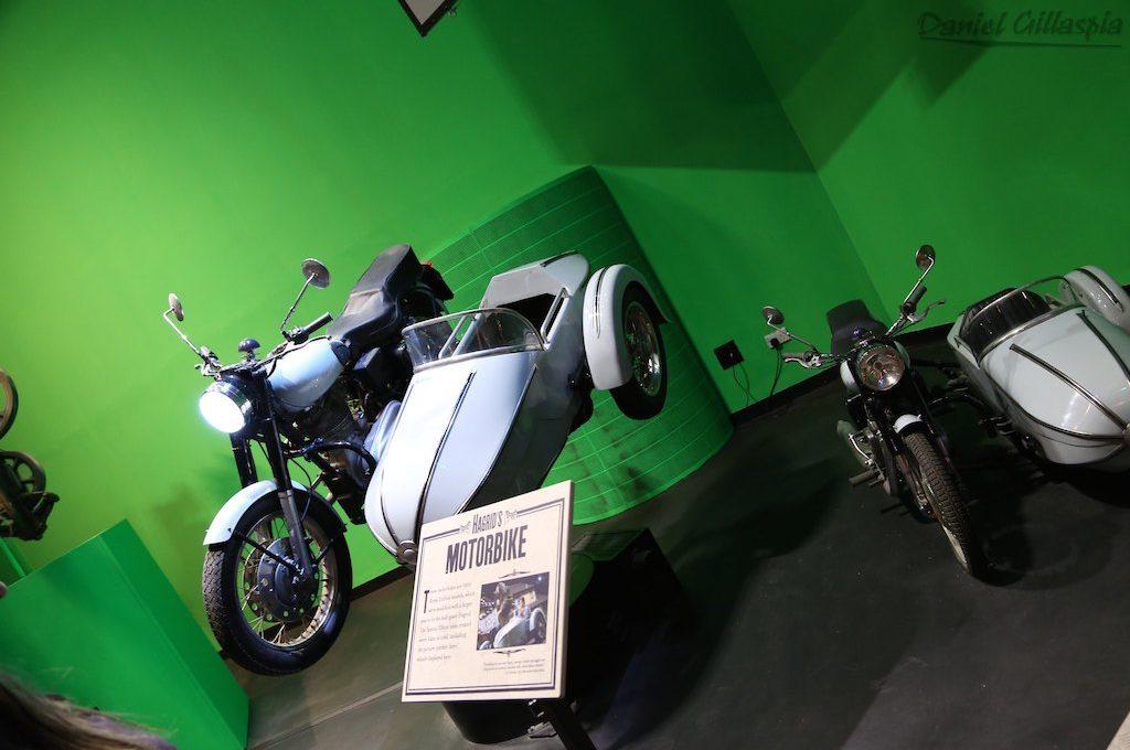 Motorbike on Harry Potter London Tour