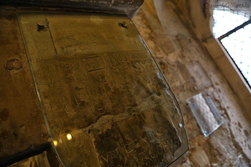 Prisoners graffiti inside Tower of London