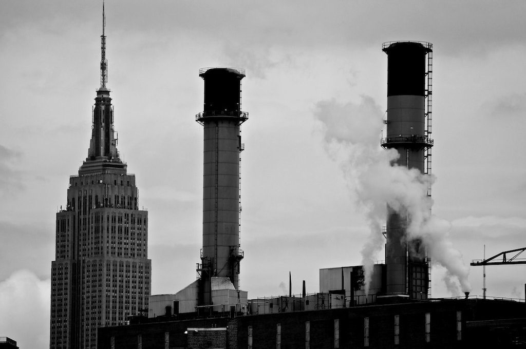 Stacks with Empire State Building