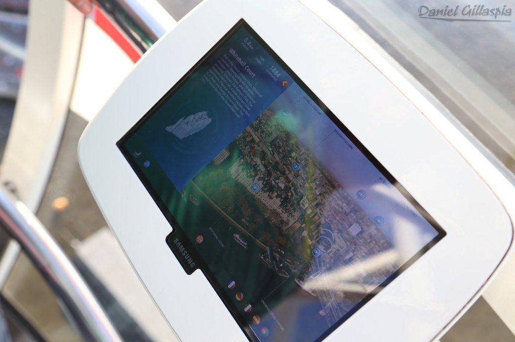 Tablet in capsule of The London Eye