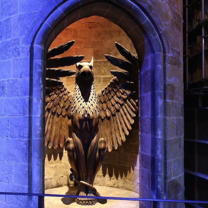 The Entrance to Dumbledores Office Harry Potter London Tour