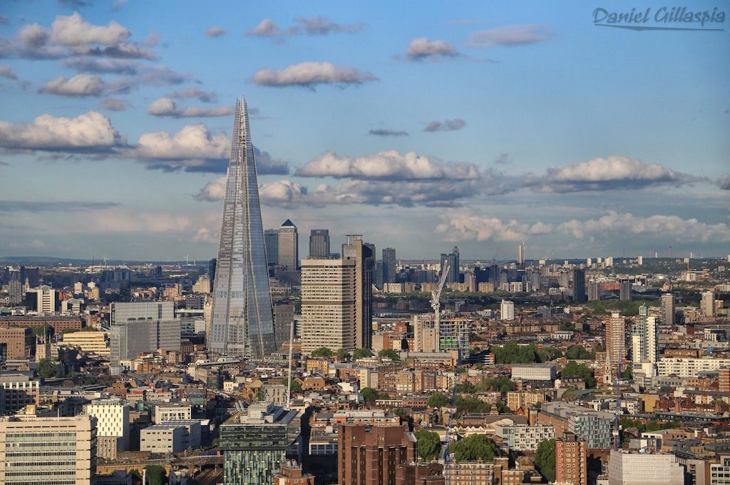The Shard from The London Eye