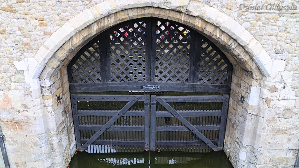 Traitors Gate Tower of London