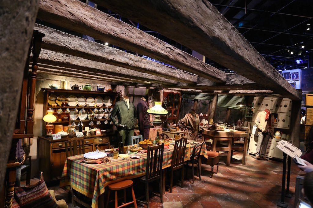 Weasleys Dining Room Harry Potter London Tour