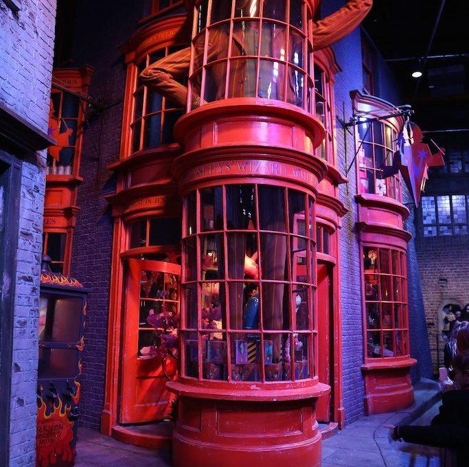 Weasleys Wizard Wheezes shop