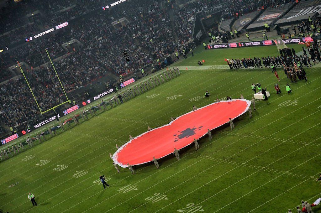 Wembley Stadium field London