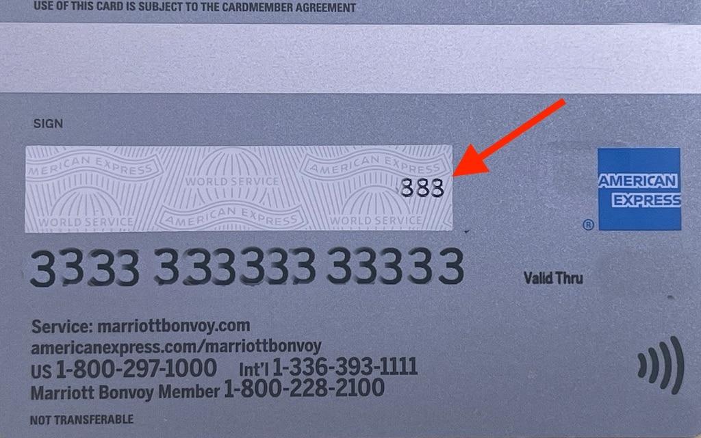American Express CID (CVV) Code Guide [7] - UponArriving