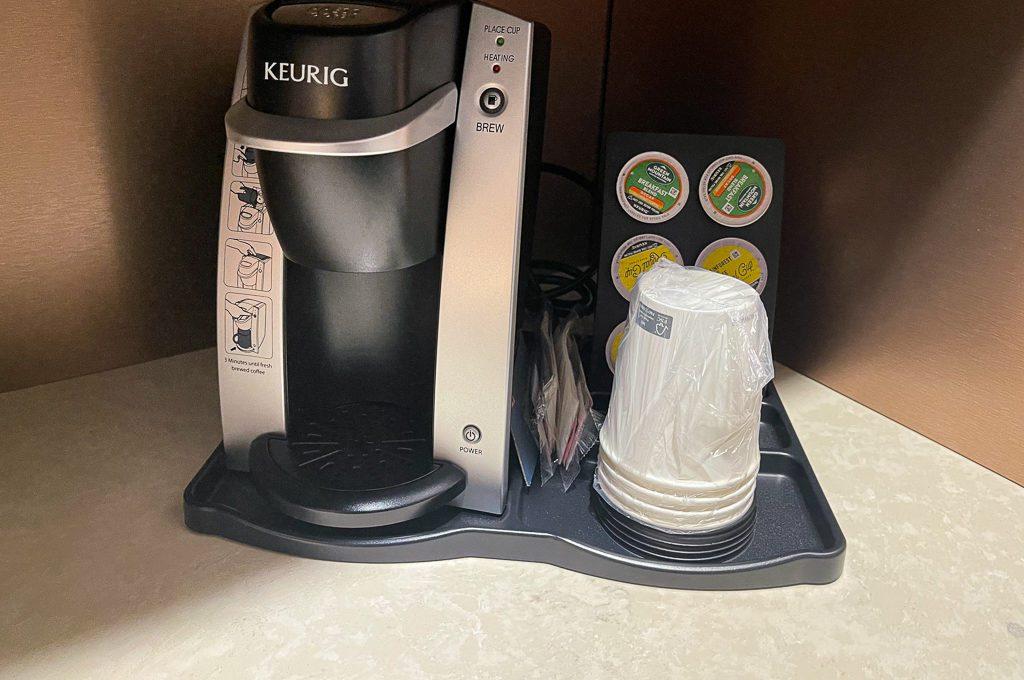 Keurig hotel coffee maker
