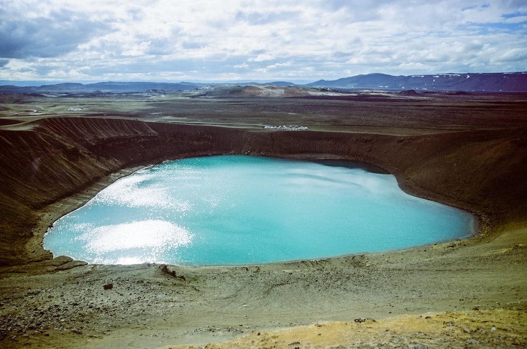 Viti Geothermal Lake