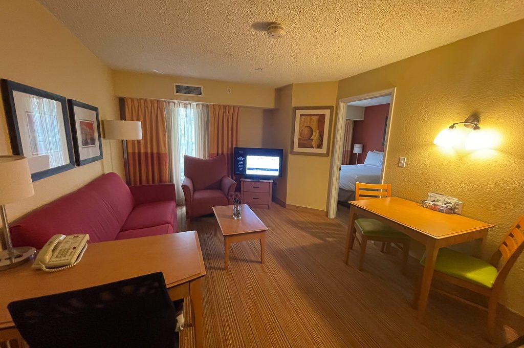 Extended stay suite Residence Inn