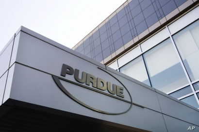 FILE - Purdue Pharma offices are seen in Stamford, Connecticut, May 8, 2007.