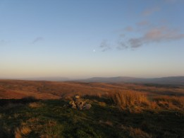 moor behind conic hill