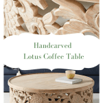 Boho Style Wooden Coffee Tables For Your Bohemian Style Space Upper Living