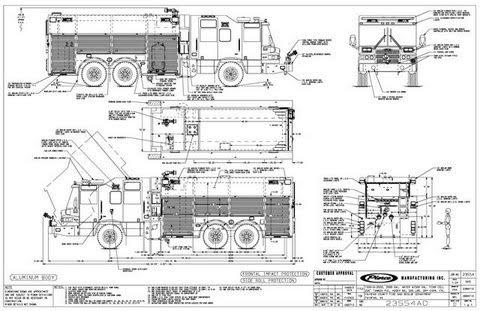 Upper Allen Fire Department » Blog Archive » Engine 123 Pic