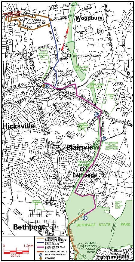 Long Island Greenbelt Trail Map : island, greenbelt, trail, Island, Greenbelt, Trail, World, Atlas
