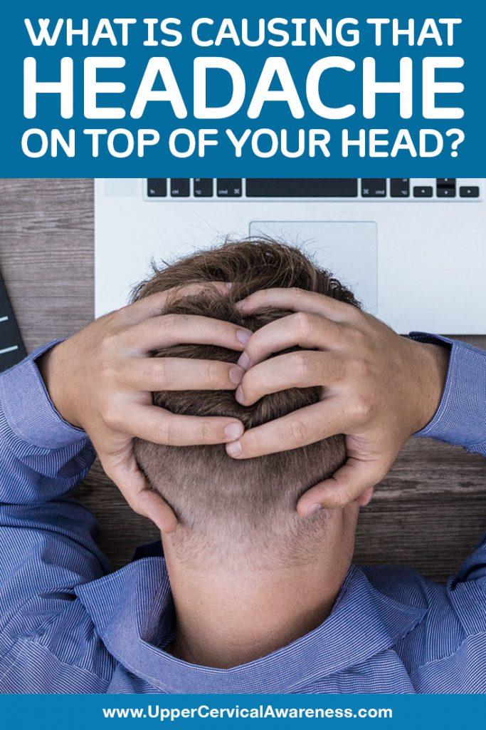headache on top of