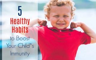 boost childs immunity