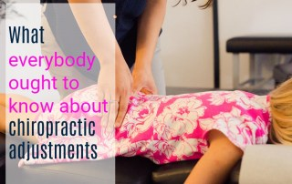 what everyone ought to know about chiropractic care