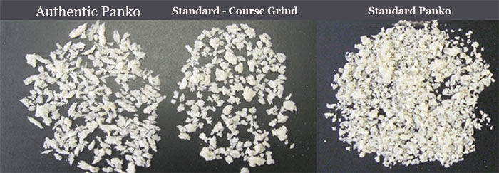 Authentic Panko vs Standard Panko