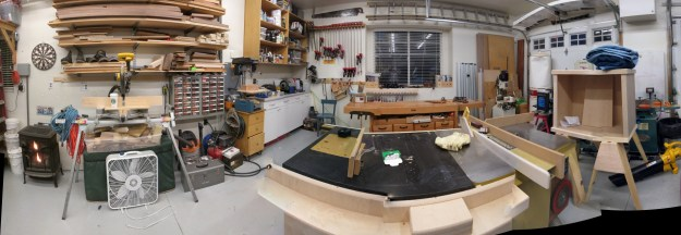 October 2010 Upper Cut Woodworks Shop Photo