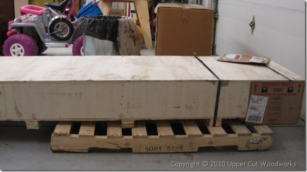 "Grizzly G0490X 8"" Jointer in Crate"