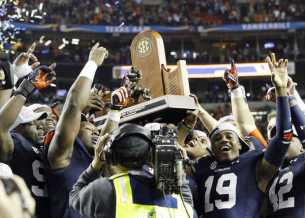 Auburn took down Missouri in a high scoring affair at the Georgia Dome to win the SEC Championship and clinch a spot in the BCS National Championship.