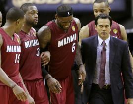 Team helps LeBron off court Finals Game 1