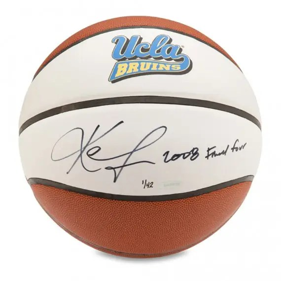 Kevin Love Autographed & Inscribed Baden UCLA Basketball