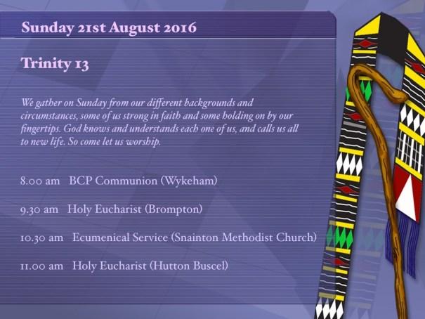 20160821 Call to worship