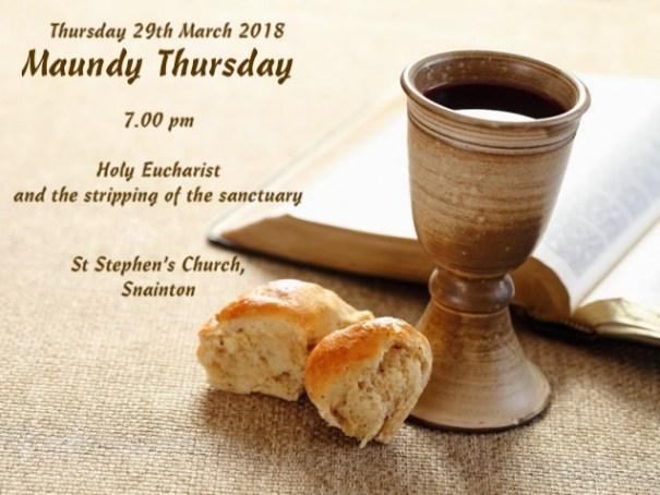 Maundy Thursday 2018