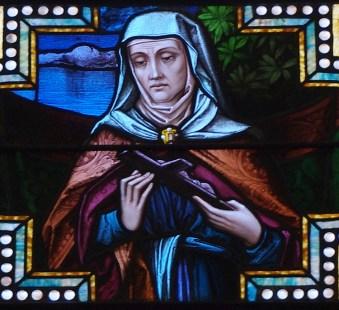 Saint_Augustine_Catholic_Church_(Lebanon,_KY)_-_stained_glass,_St._Monica