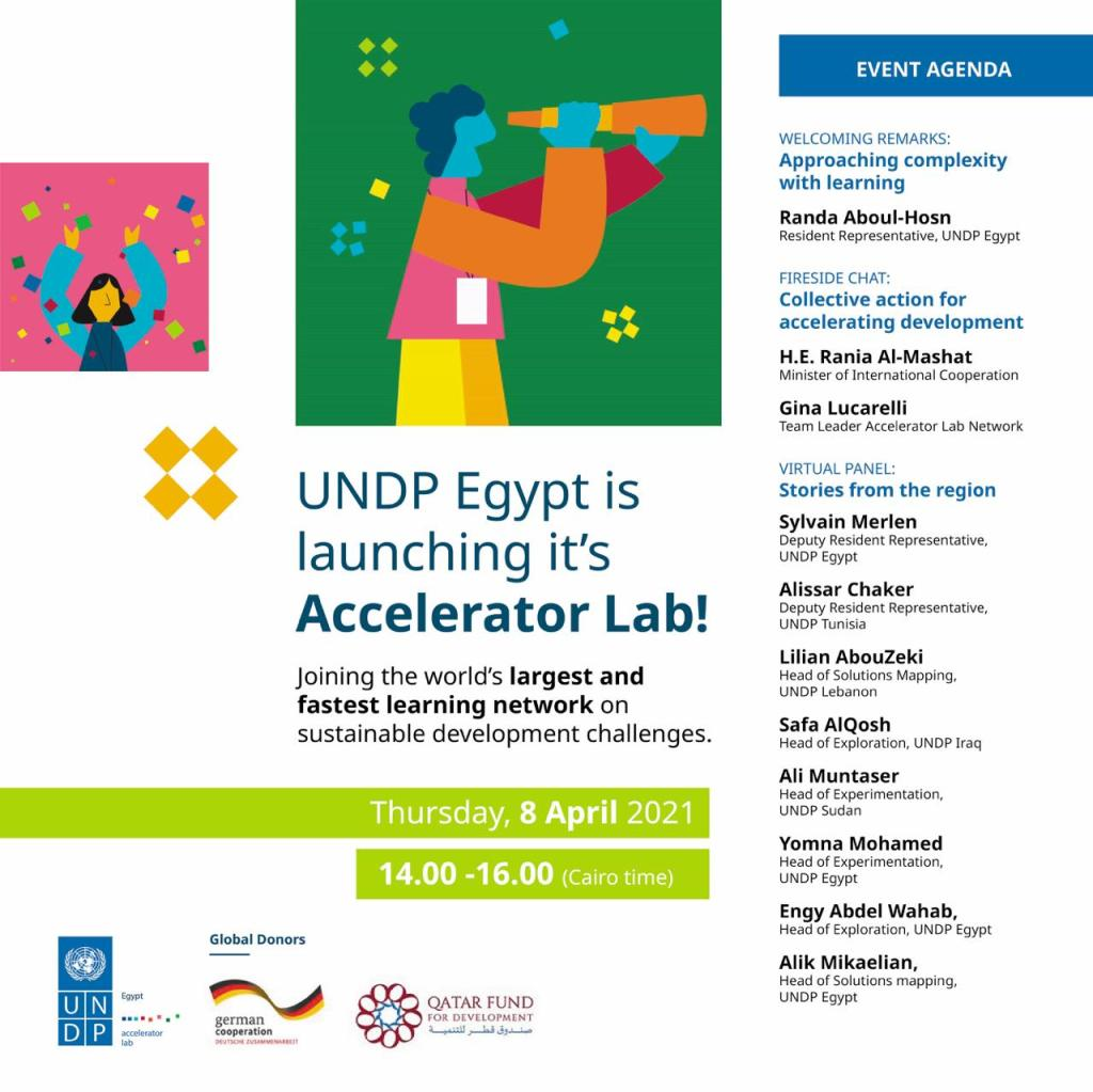 Launch of UNDP Egypt's Accelerator Lab