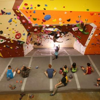 upper limits chesterfield rock climbing gym 2